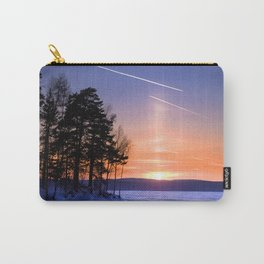 Сolumn of light and contrails Carry-All Pouch