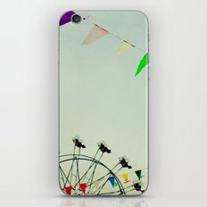 summer festival iPhone & iPod Skin