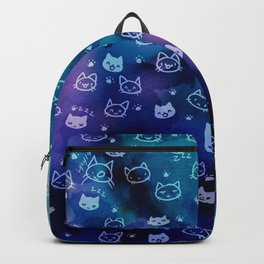Kitty galaxy-meow Backpack