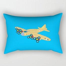Fidget Plane Rectangular Pillow