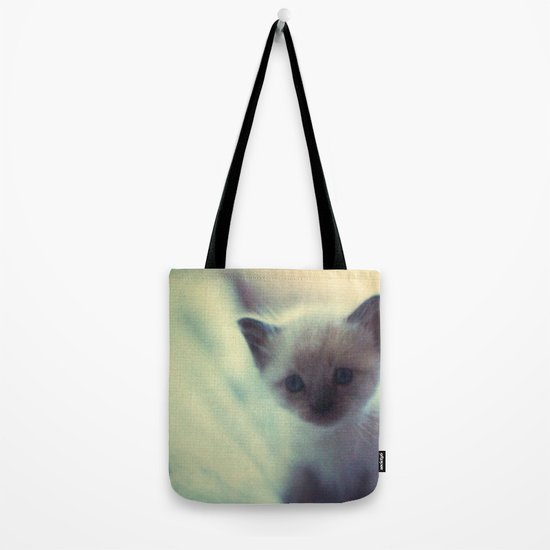 1972 Kittens Tote Bag