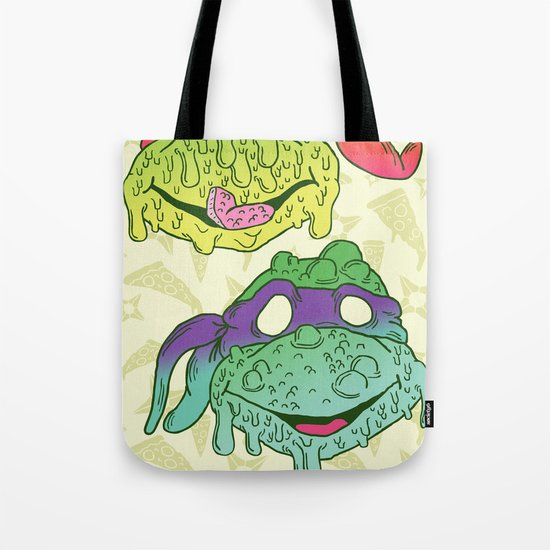 Teenage (a Little Too Mutated) Ninja Turtles Tote Bag