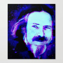 Alan Watts Canvas Print