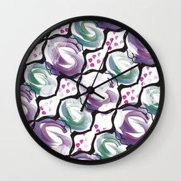 Hanger pattern Wall Clock