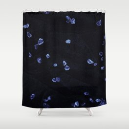 Blue Gem 1 Shower Curtain