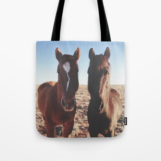 Horse Friends Tote Bag