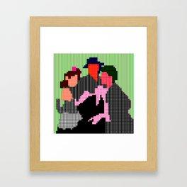 magazine60 - don quichotte Framed Art Print