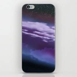 Stars and Clouds iPhone Skin
