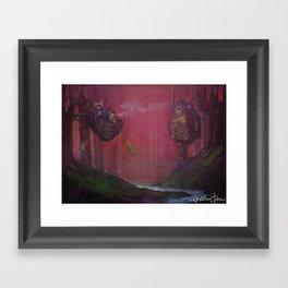 October Dreams Framed Art Print