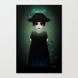 The Silent Canvas Print