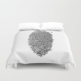 Bee Hive Duvet Cover