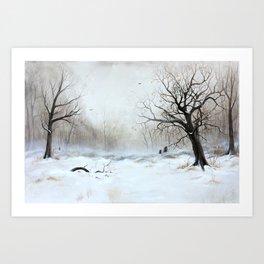 Wintermeeting 2 Kunstdrucke