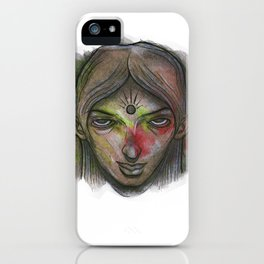 Hold your stare iPhone Case