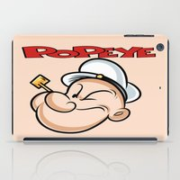 popeye iPad Cases featuring popeye by store2u
