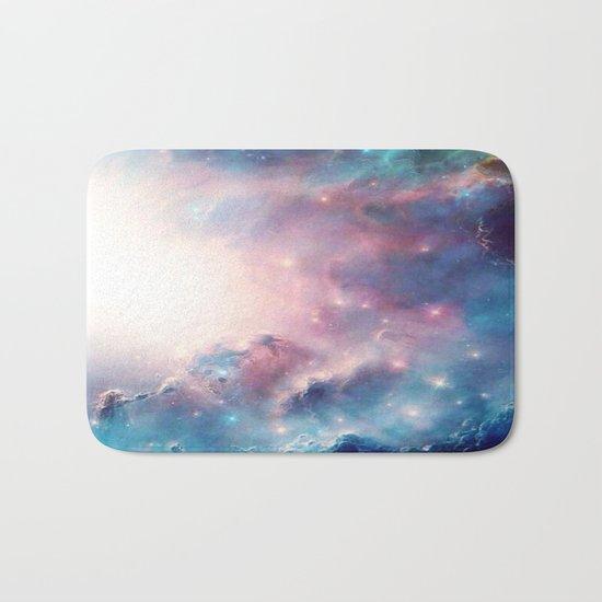Galactic storm Bath Mat
