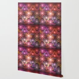 Bed Of Flowers Abstract, Fractal Art Wallpaper