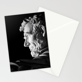 Lincoln Memorial Statue Stationery Cards