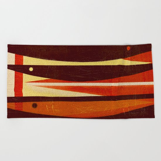 Needlefish  Beach Towel