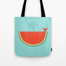 Don't let the seed stop you from enjoying the watermelon Tote Bag