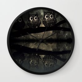owl-90 Wall Clock