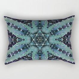 Cactus Creature Rectangular Pillow