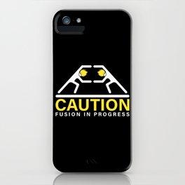 Fusion in Progress iPhone Case