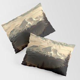 Mount Shasta Waking Up Pillow Sham