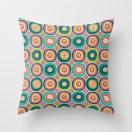 Tid Bit of Boho Spring Throw Pillow