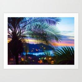 Sayulita Sunset Art Print