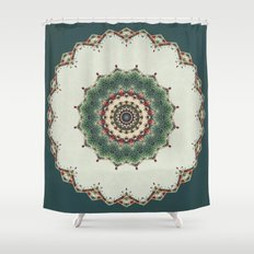 Need a Little Christmas -- Greeting Card Shower Curtain