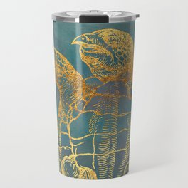 Deep Sea Life Turtle Travel Mug