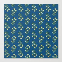 Floral pattern #1 Canvas Print