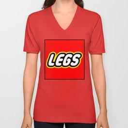Legs Unisex V-Neck