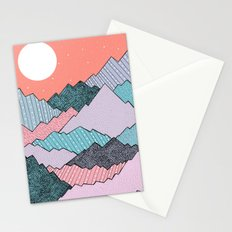 Mountain Tones Stationery Cards