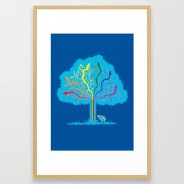 Arrow Tree Framed Art Print