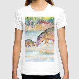 Hippopotamus T-shirt