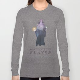 Mind Flayer (Typography) Long Sleeve T-shirt