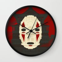 spirited away Wall Clocks featuring Spirited by Danny Haas