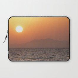 Sunrise at Tiran Island Laptop Sleeve
