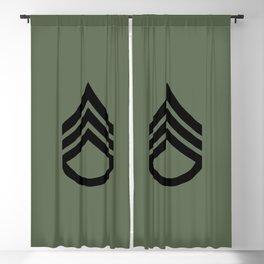 Staff Sergeant (Green) Blackout Curtain