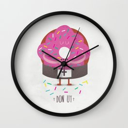 Don Ut Wall Clock