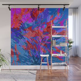 exploding coral Wall Mural