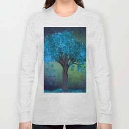 TREE OF BLUE Long Sleeve T-shirt