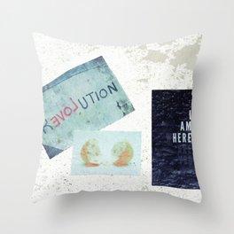 ...Evol... Throw Pillow