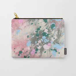 Tie Dye Splatter Carry-All Pouch