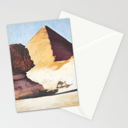 The Great Sphinx And Pyramid Stationery Cards