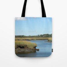 Marsh scene Tote Bag