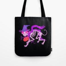 Skelecat Tote Bag