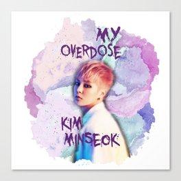 Kim Minseok Canvas Print