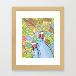 Converse Dream Framed Art Print